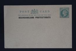 BRITISH BECHUANALAND  Postcard Unused HG P1 - 1885-1895 Kronenkolonie