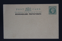 BRITISH BECHUANALAND  Postcard Unused HG P1 - Bechuanaland (...-1966)