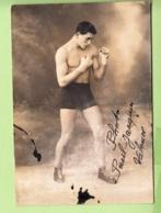 Jeune Boxeur De Valence - BARD - Photo Paul Jacquin - 2 Scans - Boksen