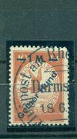 Deutsches Reich, Flugpost Rhein/Main, Nr. IV Gestempelt - Deutschland