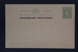 BRITISH BECHUANALAND  Postcard Unused HG P3 - 1885-1895 Kronenkolonie