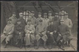 CPA - VERSAILLES - Groupe D'officiers (nom Mentionnés Sur La Carte) - Edition Photographe H.Bessard - Versailles