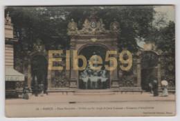 Nancy (54) Place Stanislas, Grille En Fer Forgé De Jean Lamour, Fontaine D'Amphitrite, écrite - Nancy