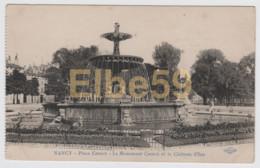 Nancy (54) Place Carnot, Le Monument Carnot Et Le Chateau D'Eau, Neuve - Nancy