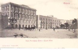 ITALIA - TRAPANI - Viale .... E Grand Hotel, Animata, 1900 Circa - 2019-357 - Trapani