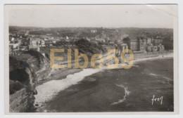 Biarritz (64) Les Falaises Vues Du Phare, écrite - Biarritz
