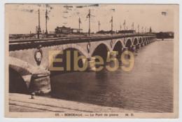 Bordeaux (33) Le Pont De Pierre, écrite - Bordeaux