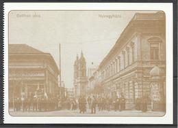 Hungary, Nyiregyhaza, Bethlen Street, Around 1910, Reprint. - Hongrie