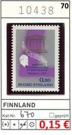 Finnland - Finland - Suomi - Finlande - Michel 670 - ** Mnh Neuf Postfris - - Ungebraucht