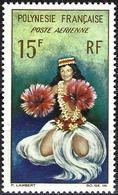 French Polynesia 1964 - Mi 35 - YT Pa 7 ( Tahitian Dancer ) MH* - Neufs