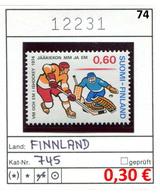Finnland - Finland - Suomi - Finlande - Michel 745 - ** Mnh Neuf Postfris - - Ungebraucht