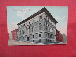 Masonic Temple   Albany   New York >  Ref    3560 - Albany
