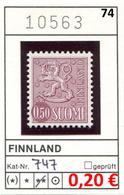 Finnland - Finland - Suomi - Finlande - Michel 747 - ** Mnh Neuf Postfris - - Ungebraucht