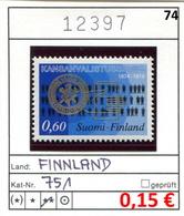 Finnland - Finland - Suomi - Finlande - Michel 751 - ** Mnh Neuf Postfris - - Ungebraucht