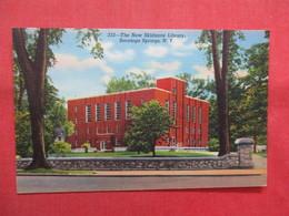 New Skidmore Library     Saratoga Springs  New York >  Ref    3560 - Saratoga Springs