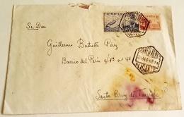 Ancienne Enveloppe Distribuée Par Air Mail, Alicante - Tenerife/Old Envelope Circulated By Air Mail, Alicante - Tenerife - Airmail