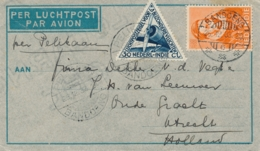 Nederlands Indië - 1933 -12,5 Cent Willem I + 30 Cent Op Pelikaanbrief Van LB Bandoeng/6 Naar Utrecht - Nederlands-Indië