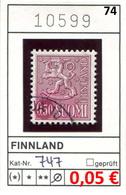 Finnland - Finland - Suomi - Finlande - Michel 747 - Oo Oblit. Used Gebruikt - Ungebraucht