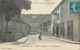 CPA 39 Jura Arbois Rue De Faramand Et L'Ermitage - Arbois