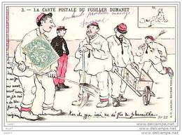 CPA - Illustrateur - La Carte Postale Du Fusiller Dumanet - (ref A124) - Umoristiche