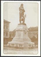 Hungary, Nyiregyhaza, Bessenyei Gyorgy Statue, Around 1910, Reprint. - Hongrie