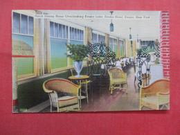 Porch Dining Room  Keuka Hotel  Keuka      New York >  Ref    3560 - NY - New York
