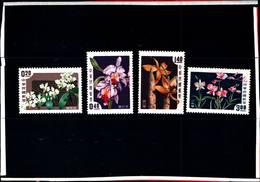 6750B) FORMOSA- ORCHIDEE DIVERSE-N.255-58-MNH** - 1945-... República De China