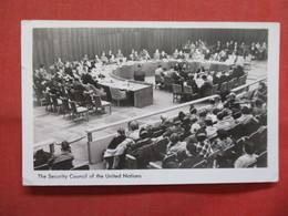 RPPC   Security Council Of The United Nations    New York > New York City >  Ref    3560 - Manhattan