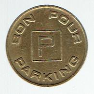"""Jeton """"Bon Pour Parking"""" Ville De Luxembourg - Autres"""