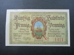 Notgeld Stadt Plebiscit Oberschlesien 1920 Guter Zustand! 50 Pfennig. Slesvig - [11] Emisiones Locales