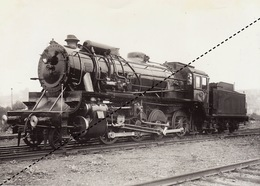 Photo SNCB NMBS Chemins De Fer Belges Train Locomotive - Trenes