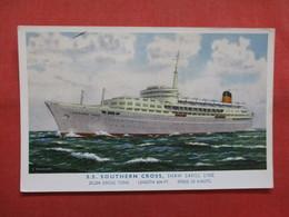 Shaw Savill Line  S.S. Southern Cross  >  Ref    3561 - Steamers