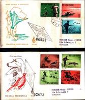 13098A)F.D.C. SAN MARINO   Storia Dell'automobile - 23 Gennaio 1962 - FDC