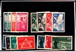 6753B) FORMOSA-LOTTO DI FRANCOBOLLI IN SERIE COMPLETE-SENZA GOMMA - 1945-... Republic Of China