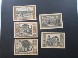 Notgeld Stadt Belgard 5 Scheine / Serie ?? 25 PF - 2 Mark Guter Zustand! - [11] Local Banknote Issues