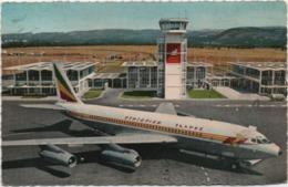 Boeing Fan-jet At Addis Abeba Airport. Ethiopian Airlines. Viaggiata 1967 - Aerodromi