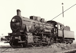 Photo SNCB NMBS Chemins De Fer Belges Train Locomotive - Trains