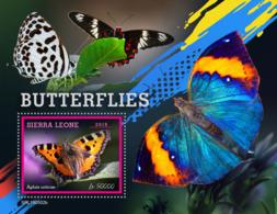 Sierra Leone 2019 Fauna   Butterflies S201907 - Sierra Leone (1961-...)