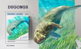 Sierra Leone 2019 Fauna  Dugongs    S201907 - Sierra Leone (1961-...)