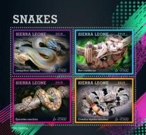 Sierra Leone 2019 Fauna   Snakes  S201907 - Sierra Leone (1961-...)