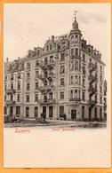 Luzern Switzerland 1900 Postcard - LU Lucerne