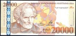 Armenia - 20000 Dram 2012 - P58 - Armenia
