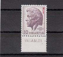 Suisse - 1946 - Neuf** - YT N°  269 - BIE - Pestalozzi - Servizio