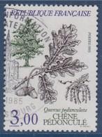 = Flore Et Faune Arbres: Chêne Pédonculé, 3f00 N°2386 Oblitéré - France