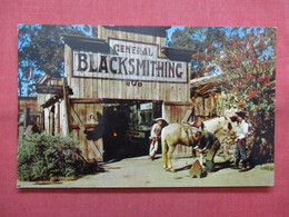 Blacksmith Shop Ghost Town Knotts Berry Farm Ca.    Ref    3561 - Professions