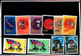6756B) FORMOSA-LOTTO DI FRANCOBOLLI IN SERIE COMPLETE-MNH** - 1945-... Republic Of China