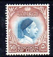APR2321 - LIBIA LYBIA 1952 ,  Yvert  N. 134  Nuovo *  Linguella (2380A) El Senoussi - Libia