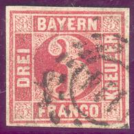 Bayern, Mi.-Nr.9bo, 114 Erlangen,pracht - Bayern (Baviera)