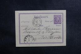 INDES NÉERLANDAISES - Entier Postal De Soerabaija Pour Batavia En 1874 - L 39659 - Nederlands-Indië