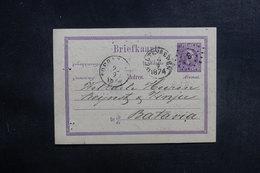 INDES NÉERLANDAISES - Entier Postal De Soerabaija Pour Batavia En 1874 - L 39660 - Nederlands-Indië
